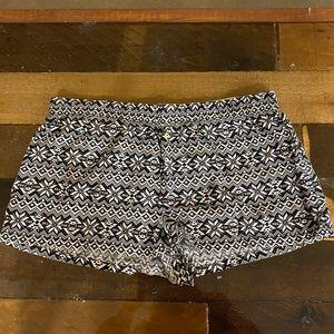 Pink VS Aztec Sleepwear Shorts Medium